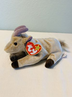 """""""Goatee"""" the goat TY Beanie Baby 1998 retired for Sale in Austin, TX"""