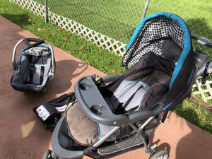 Car seat with 2 bases and stroller for Sale in Miami, FL