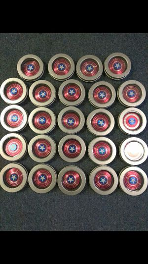 MUST GO CAPTAIN AMERICA METAL FIDGET SPINNERS for Sale in Carrollton, TX