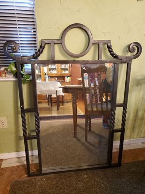 Solid steel mirror for Sale in Georgetown, TX