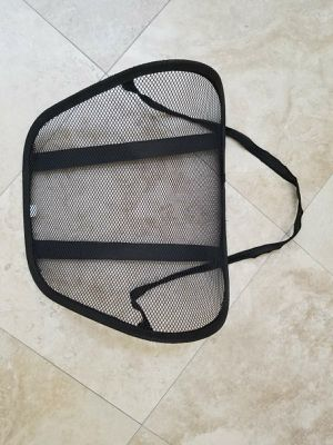 Mesh lumbar support for car / office chair for Sale in Laguna Niguel, CA