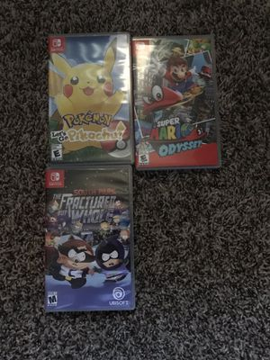 Nintendo switch games for Sale in Fresno, CA