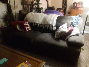 Free double reclining couch for Sale in Tacoma, WA