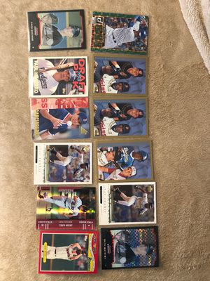 CARDS BASEBALL ROOKIE 12 CARDS ROOKIES PROSPECTS PAPI ORTIZ GARCIAPARRA KONERKO MORE for Sale in Downey, CA