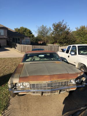 1968 Chevy Impala for Sale in Dallas, TX