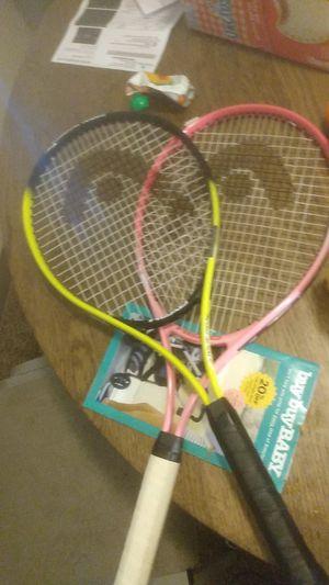 Head nano titanium tennis rackets for Sale in Seattle, WA