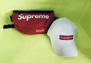 Supreme Fanny pack and hat bundle for Sale in North Miami Beach, FL