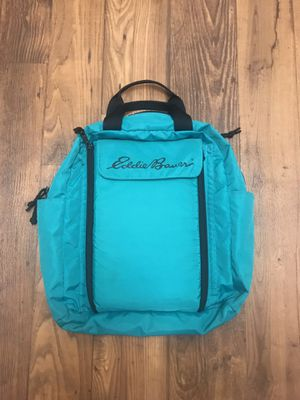 VINTAGE EDDIE BAUER BAG EITH CHANGING TABLE for Sale in San Diego, CA