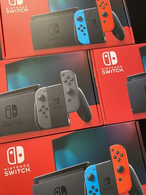 Nintendo Switch Grey and Neon Available for Sale in Queens, NY