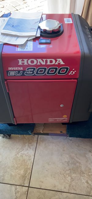 Honda EU3000is generator Brand New for Sale in Fremont, CA