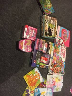 Children's game and puzzle assortment for Sale in Solon, OH