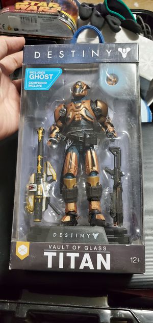 McFarlane Toys Destiny Vault of Glass Titan Collectible Action Figure for Sale in Las Vegas, NV
