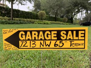 7213 NW 65 TERRACE - PARKLAND FL YARD SALE. for Sale in Coral Springs, FL