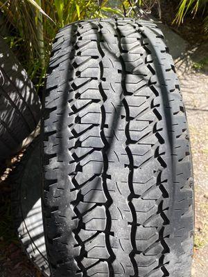 2) 245/70/17 Firestone Destination A/T Tires for Sale in Palm Harbor, FL