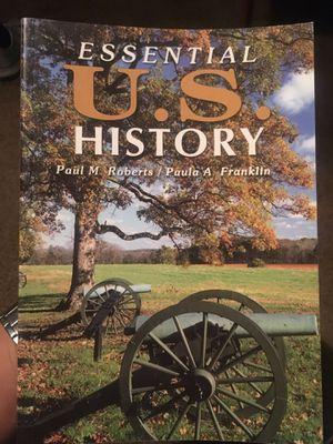 Essential US History School book for Sale in El Monte, CA