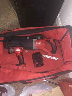 Milwaukee power tools for Sale in Luray, VA