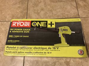 RYOBI 18-Volt ONE+ Power Caulk and Adhesive Gun (Tool Only) for Sale in Phoenix, AZ