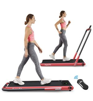 Brand New 2in1 Folding Treadmill Dual Display with Bluetooth Speakers for Sale in Chino, CA