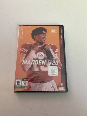 Madden 20 (PC Download) for Sale in Canal Winchester, OH