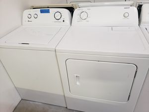AMANA WASHER AND ADMIRAL DRYER for Sale in Modesto, CA
