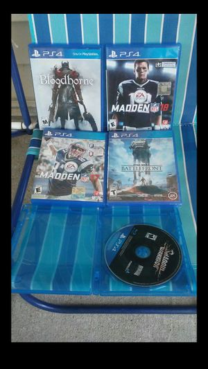 5 PlayStation4 Games for Sale in Nashville, TN
