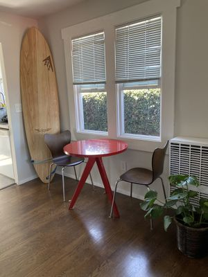 StylishRed Bistro Table for Sale in San Diego, CA