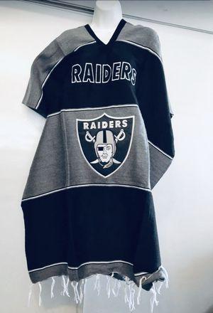 Las Vegas Raider poncho for Sale in Los Angeles, CA