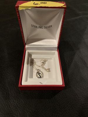 """S"" Necklace for Sale in Bainbridge, PA"
