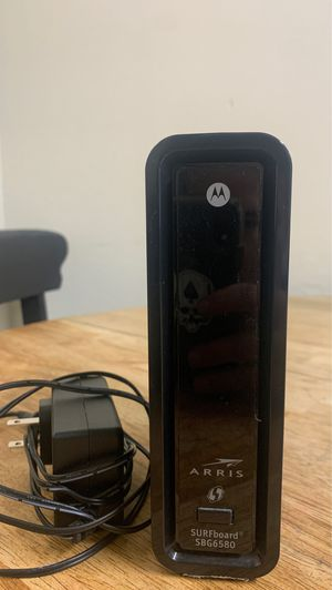 Motorola Arris Surfboard SBG6580 modem router combo. for Sale in Orem, UT