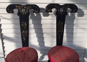 Set of Antique Three Legged Chairs for Sale in Dayton, MD