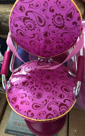 Doll hair styling chair our generation for Sale in Gaithersburg, MD