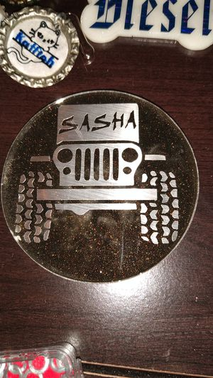 Jeep keychain custom for Sale in Lubbock, TX