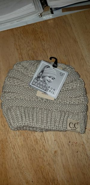 CC Kid's Messy Bun Beanie for Sale in Rockland, MA