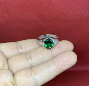 Green 925 sterling silver ring, size 11, real silver for Sale in Whittier, CA