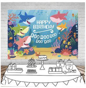BabyShark Birthday Banner for Sale in Half Moon Bay, CA