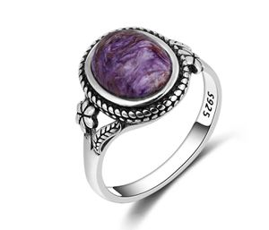 Vintage Bohemian Style Sterling Sliver Charoite Ring for Sale in Wichita, KS