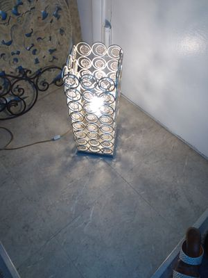 "Wife table lamp. 71/2x71/2. 21"" H for Sale in Alexandria, VA"