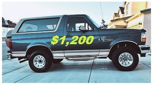 🔥🔥1996 Ford Bronco($12OO)'One Owner🔥🔥 for Sale in Fresno, CA