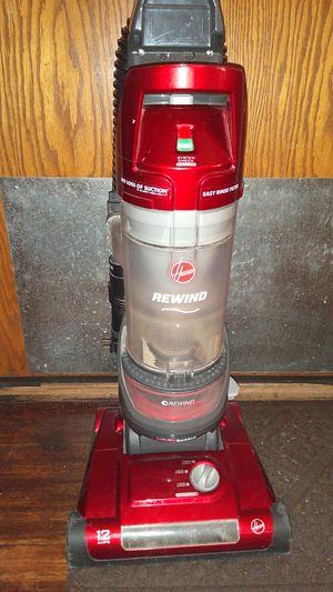 Hoover rewinding vacuum 12amps for Sale in Denver, CO