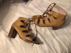 Open toe lace heels for Sale in Bakersfield, CA