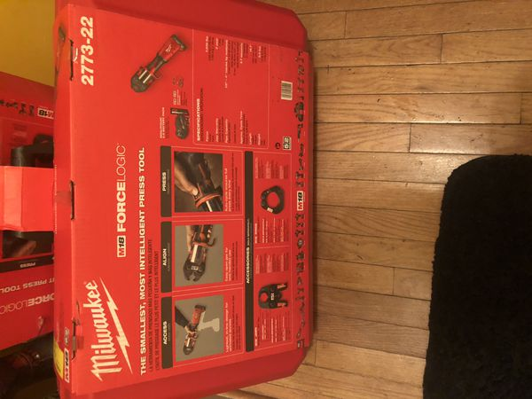 Milwaukee M18 press tool kit. (BRANDNEW)