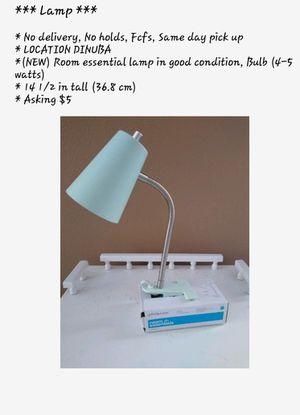Desk Lamp for Sale in Dinuba, CA