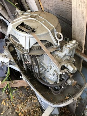 Outboard motor very low hours 35hp for Sale in San Jose, CA