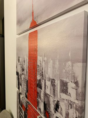 Empire State, New York canvas print/painting for Sale in Vienna, VA