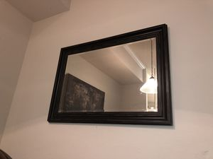 """Wall Mirror - 36""""x41"""" Black Frame for Sale in Tampa, FL"""