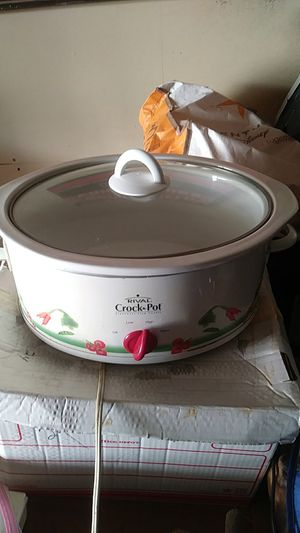 Rival 6 quart crockpot-slow cooker for Sale in Fullerton, CA