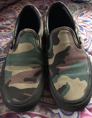 "camo vans size 6""5 for Sale in Anaheim, CA"