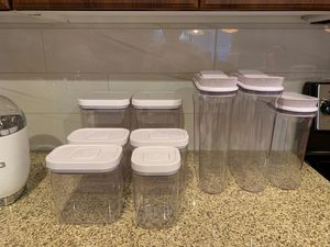 OXO food 9pc storage set for Sale in Chandler, AZ