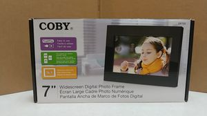 Coby digital photo frame (wide-screen) (DP700) for Sale in Mill Creek, WA