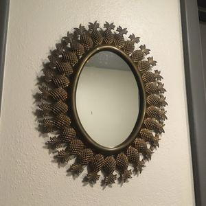 Vintage Brass Pineapple Mirror for Sale in Benton Harbor, MI